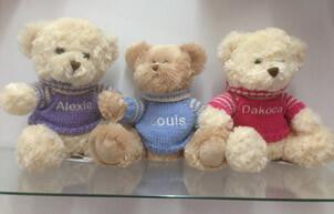 personalised teddy bears