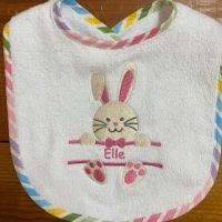 bunny rabbit bib