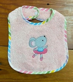 mousie-on-pink-baby-bib