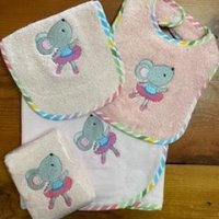 mousie pink baby gift pack